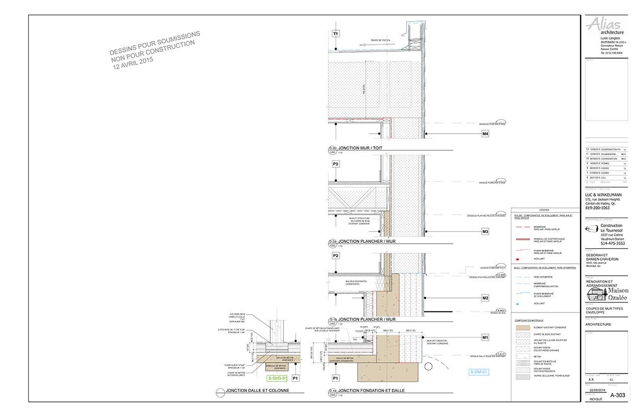 Coupes de murs maison passive ozal e - R mur maison passive ...